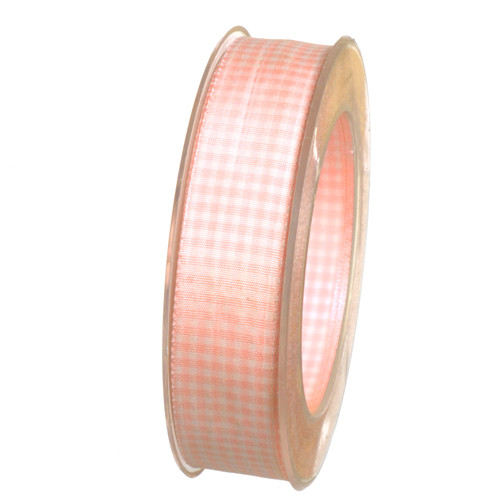 Band Vichy Rosa 25mm OUTLET