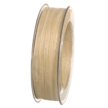 Band Beige Organdy 7mm
