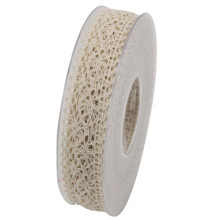 Band Spets Creme 25mm