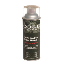 Oasis Spray Colour Moss Green.