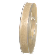 Band Beige Organdy 15mm