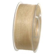 Band Beige Organdy 40mm