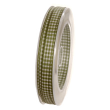 Band Vichy Grön 8mm