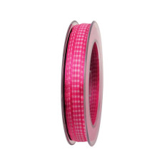 Band Vichy Cerise 8mm.