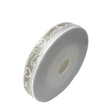 Band Vit Text Beige 10mm