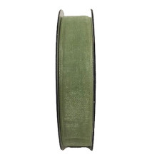 Band Grön Organza 15mm