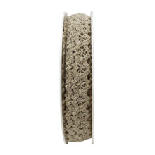 Band Beige Spets 10mm
